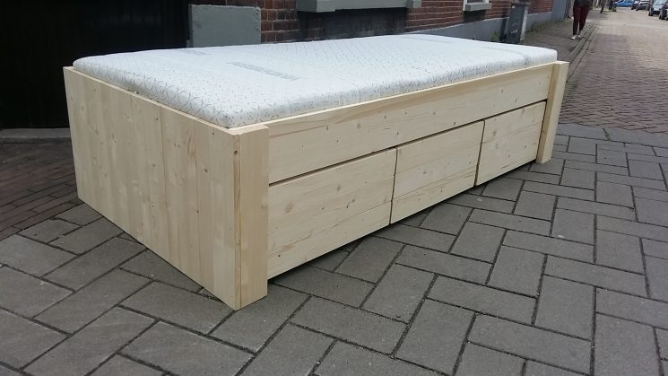 Houden Bed / Familiebed - Petra - Incl. bodem (240cm Breed)