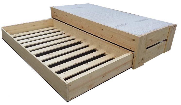 Houten Bed - Stephanie A+A
