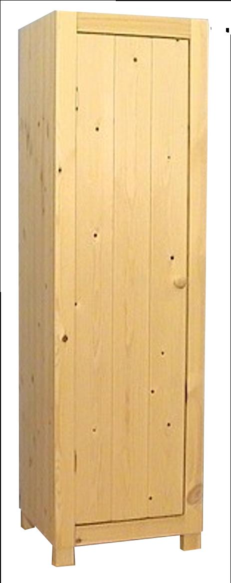 1-deurs kastenserie Ameland (55 - 66 cm breed, 161 - 228 cm hoog)