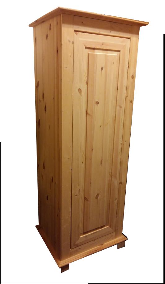 1-deurs kastenserie Vlieland (55 - 66 cm breed, 161 - 231cm hoog)