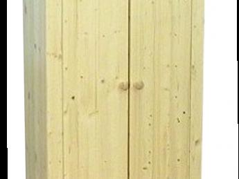 2-deurs kastenserie Ameland (75 - 94 cm breed, 161 - 228 cm hoog)