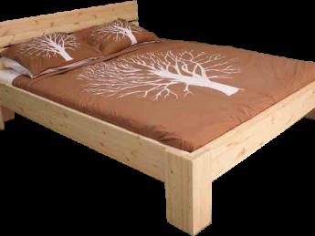 Houten Bed - Hotelbed