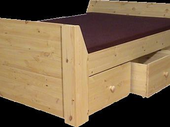 Houten Bed - Jaqueline 2