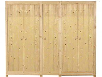 5-deurs kastenserie Ameland (230 cm breed, 161 - 228 cm hoog)