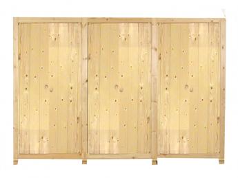 6-deurs kastenserie Ameland (269 cm breed, 161 - 228 cm hoog)