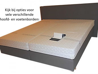 Boxspring Hardbox + matras Fantastich