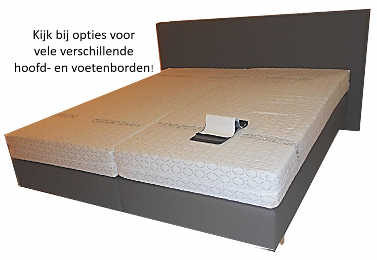 Boxspring VL + matras Fenomenaal  Nederlands allerbeste! Diverse hoofdeinden!