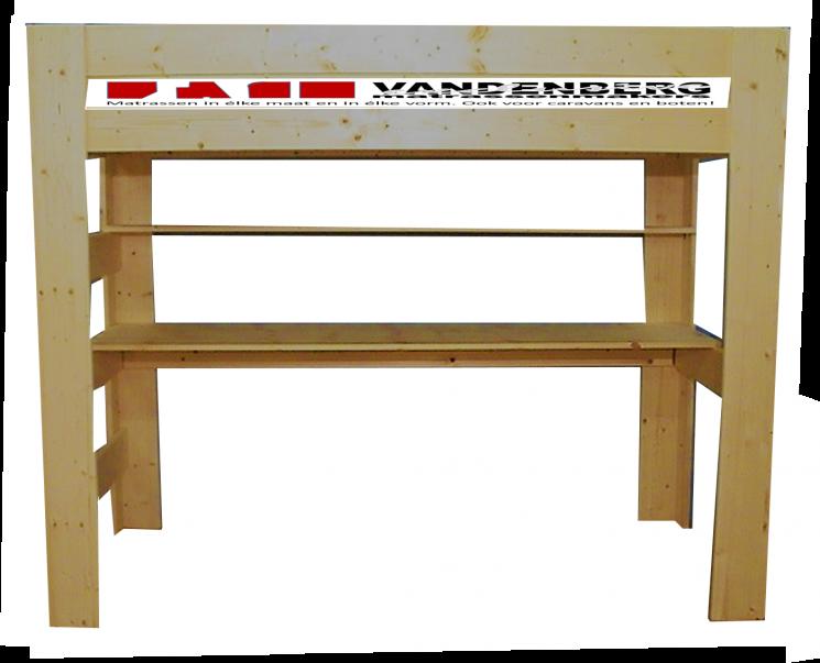 Hoogslaper met bureau - MAUR1  (170-230cm Hoog)
