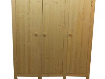 3-deurs kastenserie Ameland (149-168 cm breed, 161 - 228 cm hoog)