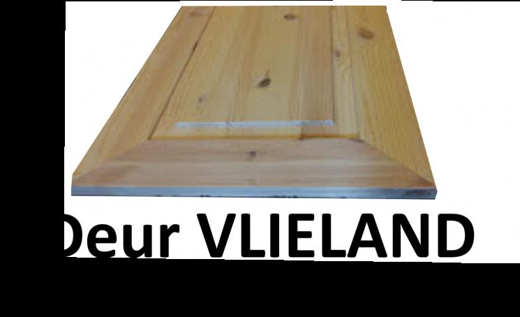 2-deurs kastenserie Vlieland (81 - 100 cm breed, 165 - 231 cm hoog)