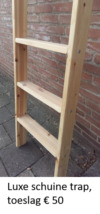 Hoogslaper met bureau en 2 ladenblokken - MAUR1 (170-230cm Hoog)