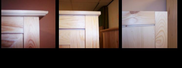 2-deurs kastenserie Vlieland (120 cm breed, 165 - 231 cm hoog)