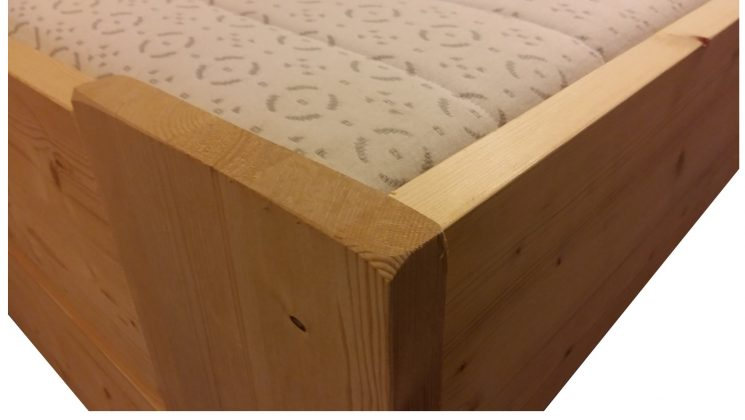 Houten Bed - Stephanie C+E